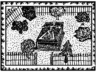 墓※[#「穴かんむり/石」]の周囲の図